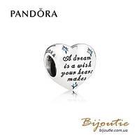 Pandora Шарм ДИСНЕЙ МЕЧТЫ ЗОЛУШКИ  791593CFL серебро 925 Пандора оригинал