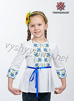 Вышиванка платье-туника для девочки