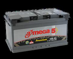 Аккумулятор Автомобильный 100 Ah  (100 Ач) (Амега) A-MEGA Premium