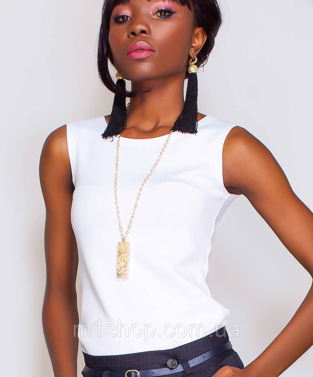 Женская блузка без рукавов (Рокси jd)