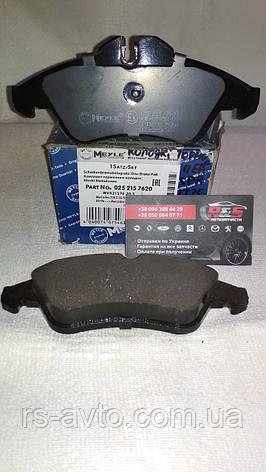 Колодки тормозные (передние) MB Mercedes Sprinter, Мерседес Спринтер 208-316 96- Ate 025 215 7620, фото 2