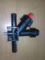 Форсунка проходная с боковым клапаном AP 0-100/087/P Agroplast