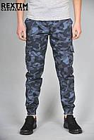 Камуфляжные штаны Rextim Criminal (синие)