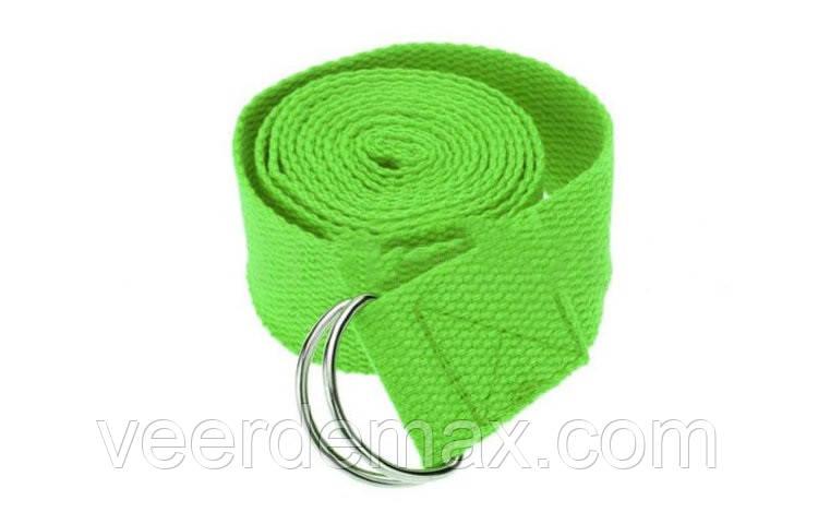 Ремень для йоги (размер 183 х 3.8 см ) цвета в ассортименте - Veer Demax в Одессе