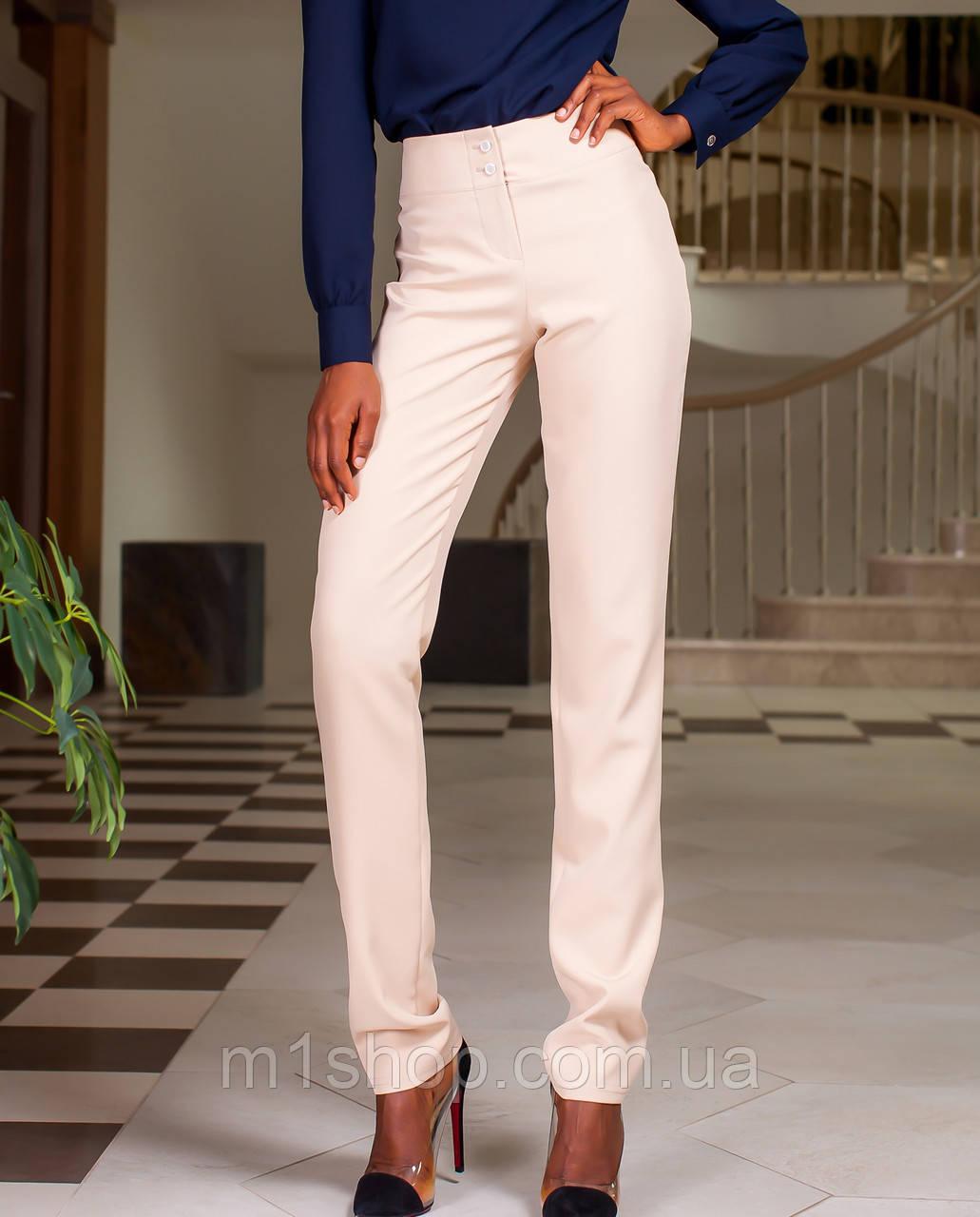 Женские деловые брюки из костюмной ткани (Юкси jd)