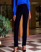 Женские деловые брюки из костюмной ткани (Юкси jd), фото 2