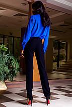 Женские деловые брюки из костюмной ткани (Юкси jd), фото 3