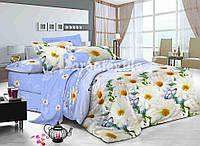 Ткань для постельного белья сатин  Ромашки