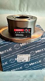 MEYLE Диск гальмівний (задній) MB Mercedes Sprinter, Мерседес Спрінтер 308-316CDI 96- (272x16) 015 523 2031
