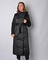Удлиненная куртка из атласа