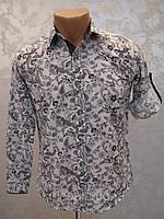 Модная рубашка для мальчиков 128,140,152 роста Завитки
