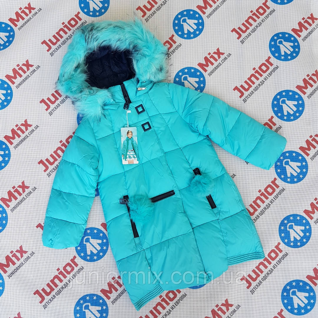 Детская зимняя куртка для девочек оптом ADL