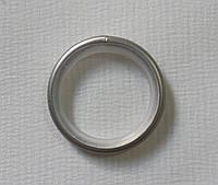 Кольцо тихое д. 19 мм, сатин