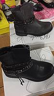 Детские ботинки ботинки на меху для девочек Размеры 31-36