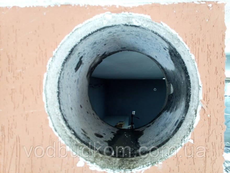 Алмазне буріння свердління отвору діаметром 352 мм Тернопіль