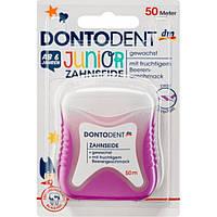Зубная нить Dontodent для детей от 6 лет, 50 м