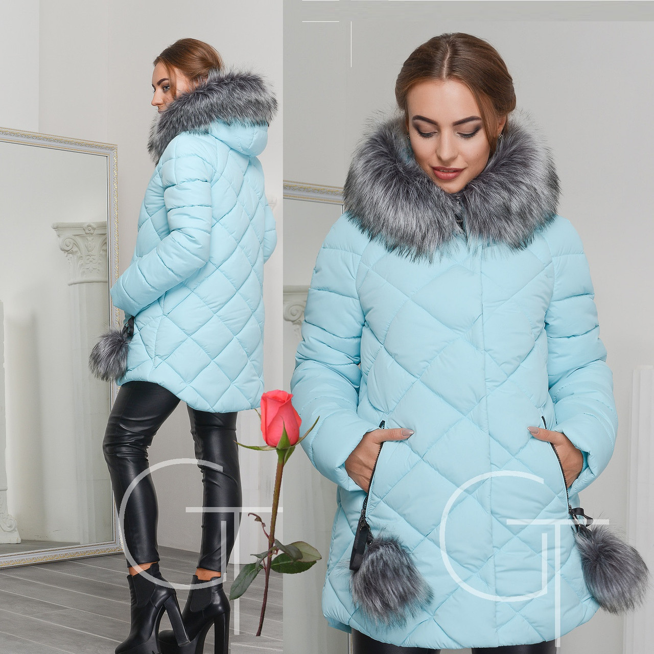 Женская зимняя одежда на тинсулейте
