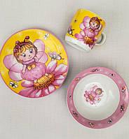 Посуда для девочки из керамики