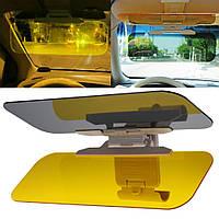 Солнцезащитное стекло для автомобиля на козырек Visor HD Vision