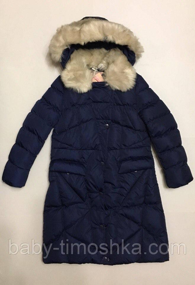 Пальто для девочек р.8 лет (маломерит)