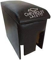 Подлокотник Chevrolet Lacetti (Шевроле Лачетти) черный с вышивкой, фото 1