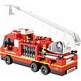 Конструктор Sluban M38-B0227 Пожарные спасатели 727 деталей, фото 4