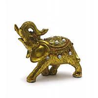 Фигурка Слон с камушками для дома