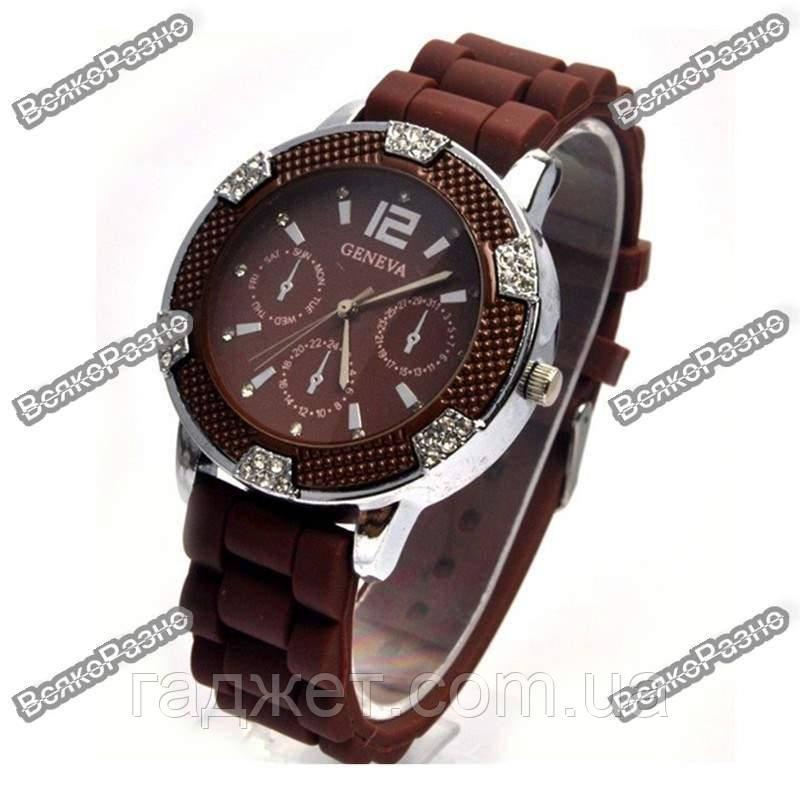 Часы Geneva Michael Kors Crystal шоколадные