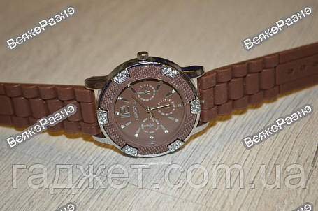 Часы Geneva Michael Kors Crystal шоколадные, фото 2