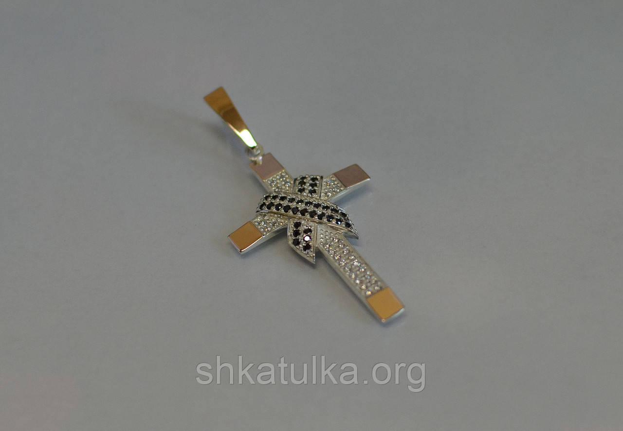 Серебряный крест №К-6н