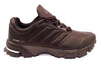 Кроссовки мужские Adidas Spring Blade осень-весна черные/коричневые AD0066