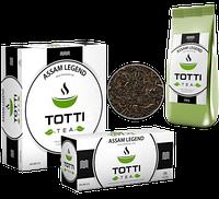Черный чай Totti «Легендарный Ассам» листовой, 250 г.