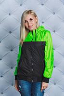 Куртка женская спортивная на флисе
