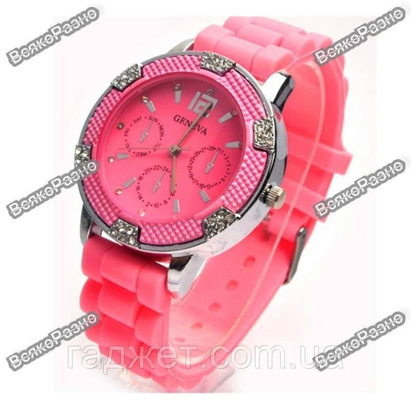 Часы Geneva Michael Kors Crystal розовые