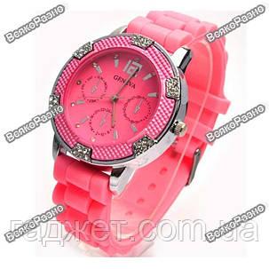Часы Geneva Michael Kors Crystal розовые, фото 2