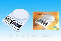 Весы кухонные электронные на 7 кг Electronic Kitchen Scale SF-400