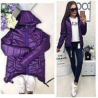 Куртка-парка женская арт. 210 ультрафиолет