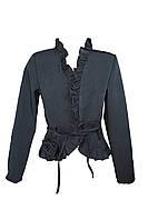 Школьный пиджак чёрный