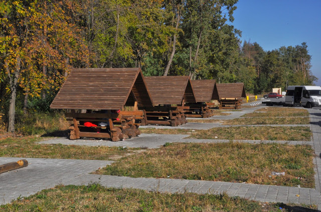 Беседка деревянная в Украине