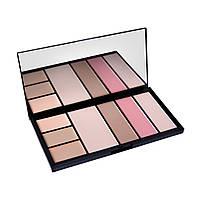 Палитра для коррекции лица Professional Make-Up Palette Malva M-470 Тон 02