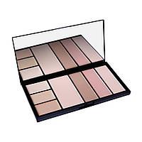 Палитра для коррекции лица Professional Make-Up Palette Malva M-470 Тон 03