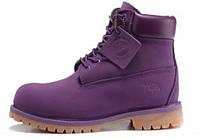 Женские ботинки Timberland, фиолетовые