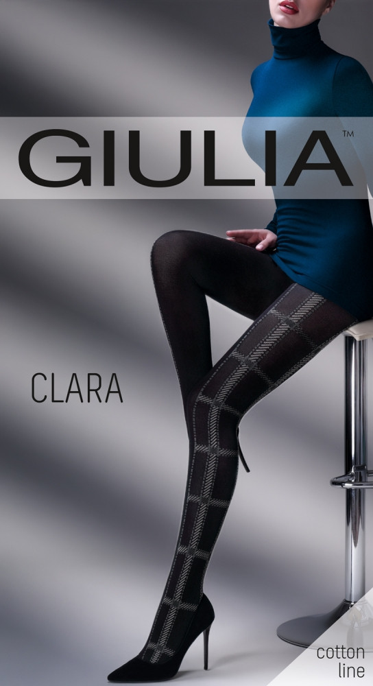 Колготы женские с узором GIULIA Clara 200 (1)
