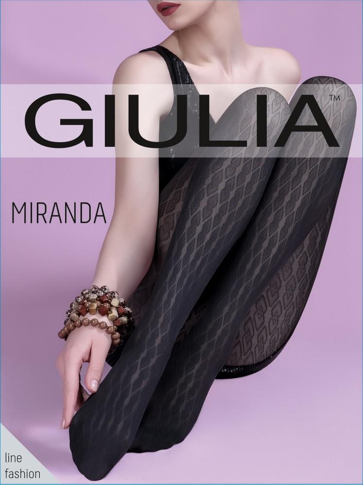 Колготы женские с узором GIULIA Miranda 60 model 1
