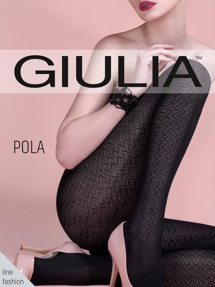 Колготы женские с узором GIULIA Pola 60 (3)
