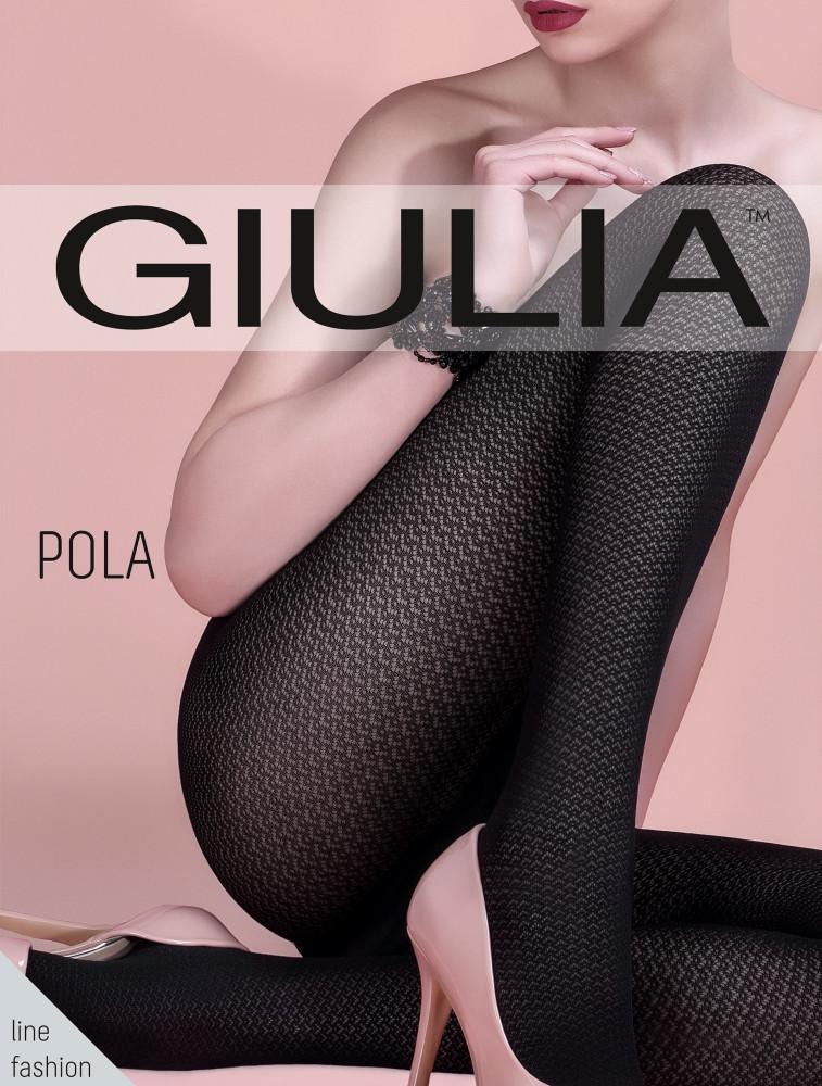 Колготы женские с узором GIULIA Pola 60 (4)