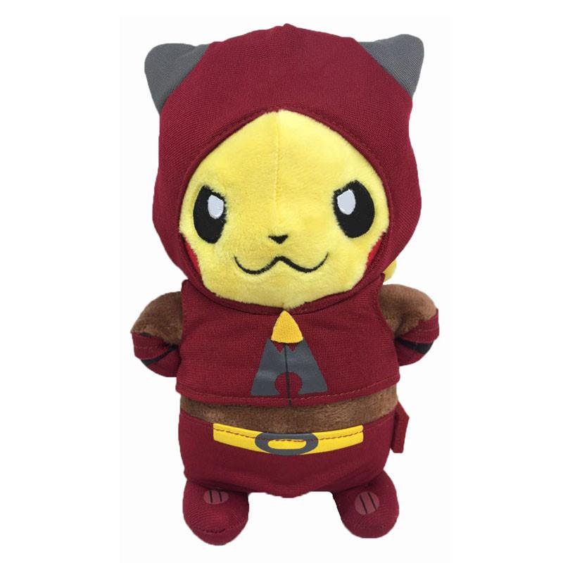 Мягкие плюшевые игрушки Покемон Pikachu Magma 22 см.