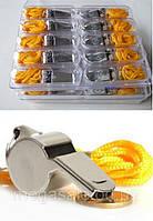 Спортивный свисток в индивидуальной упаковке (свисток для судьи/рефери): 10шт в комплекте