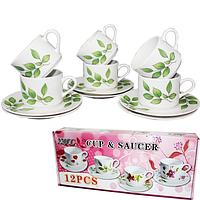 Набор чайный 12пр. керамика Береза
