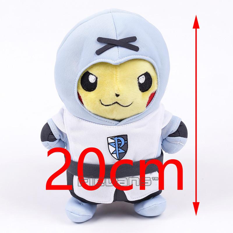 Мягкие плюшевые игрушки Покемон Пикачу 20 см.